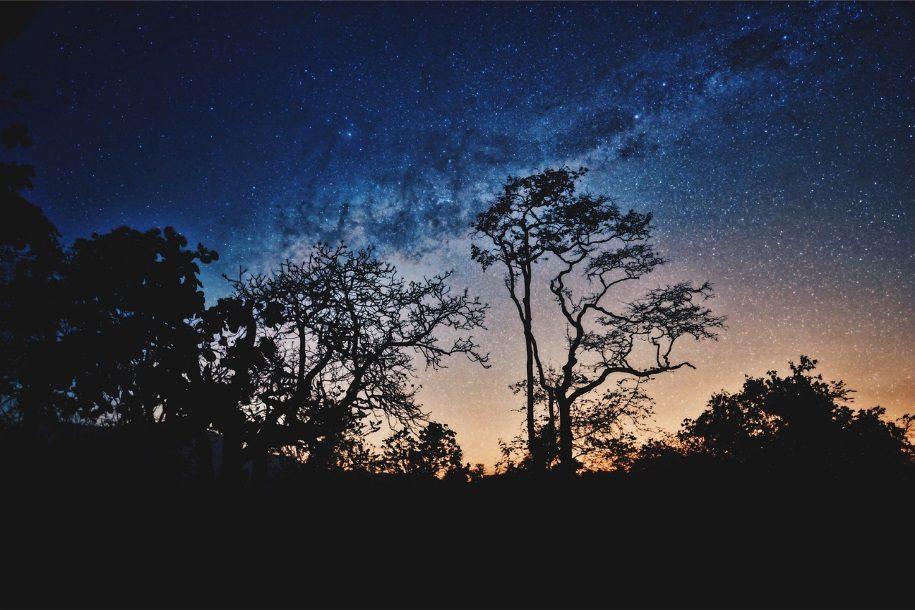 campervan stargazing