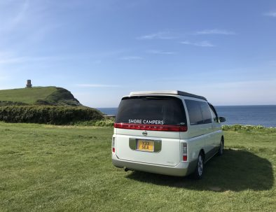 Toto the Campervan and Clavell Tower