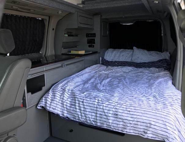 campervan bedtime