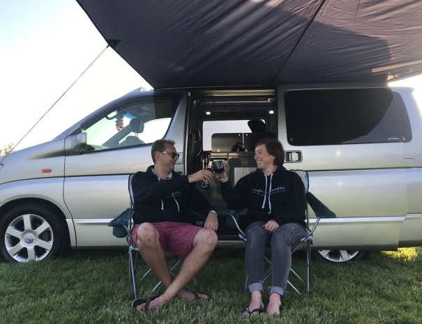campervan cheers