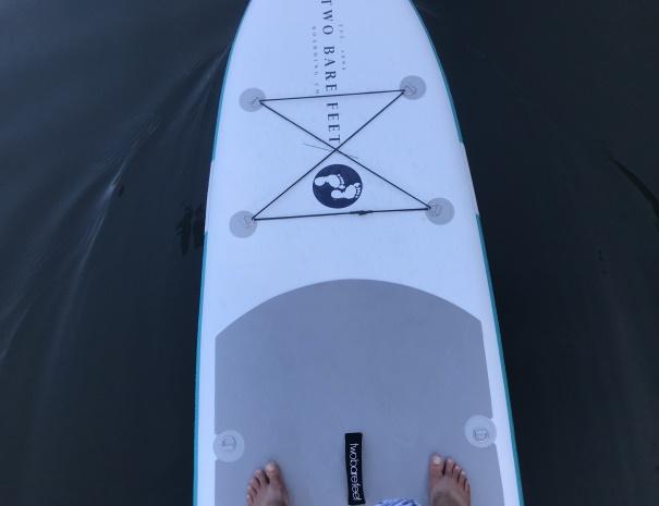 paddleboard feet
