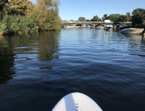river paddleboard