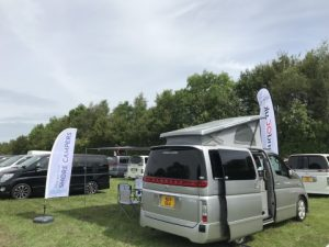 Campervan at Elgrand Meet