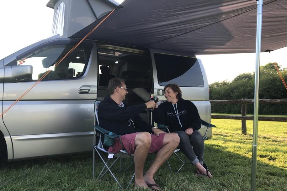 campervan cheers