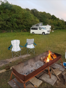 Campervan in the Purbecks
