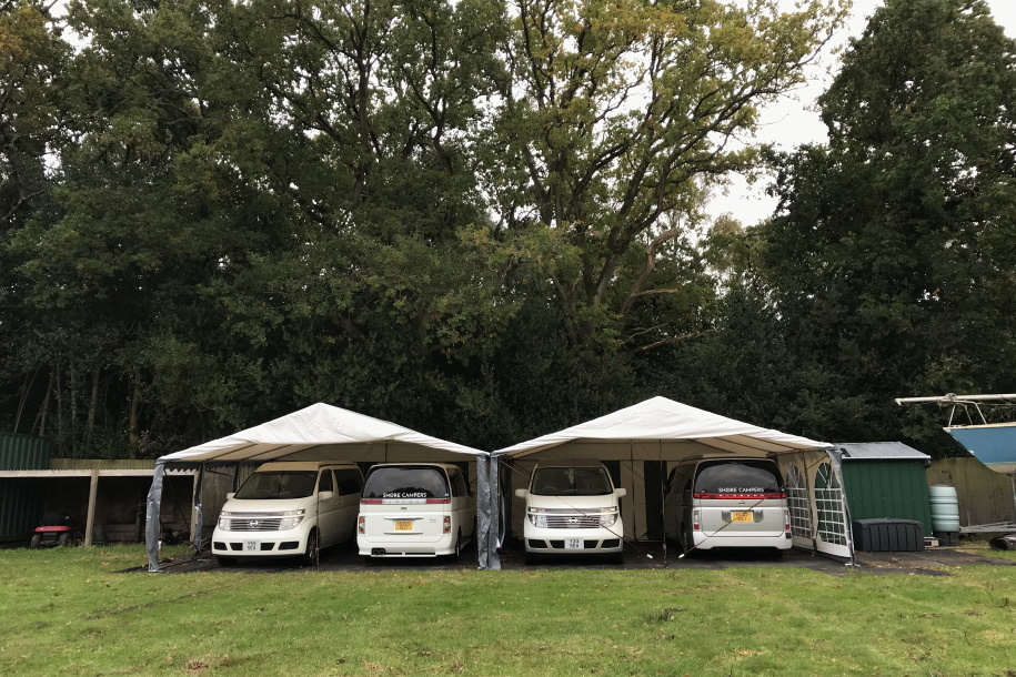 Campervan Parking in the Field