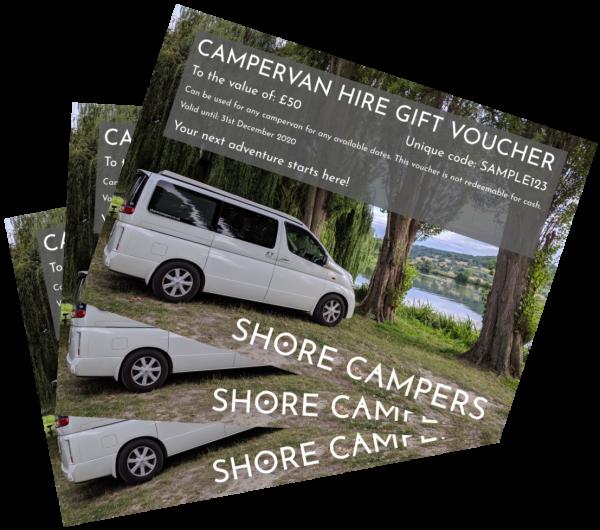 campervan gift vouchers large