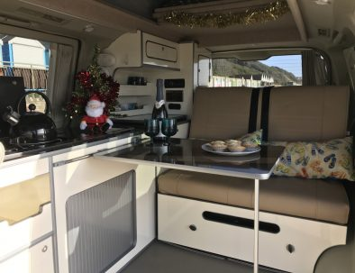 Christmas in Toto the Campervan