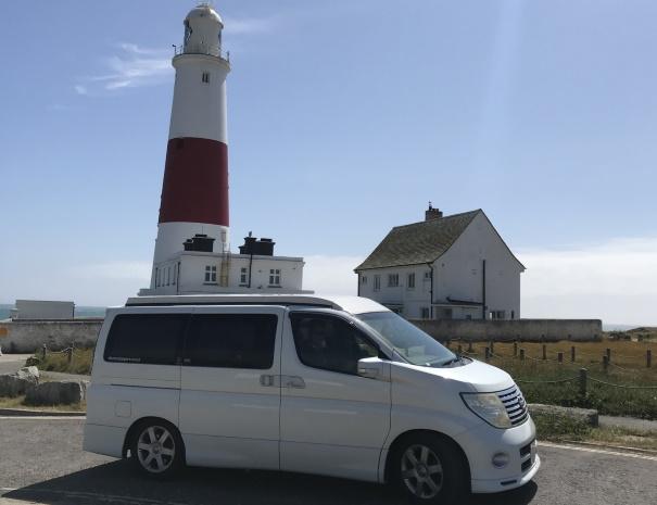 campervan lighthouse