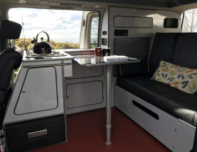 Dale the campervan - interior