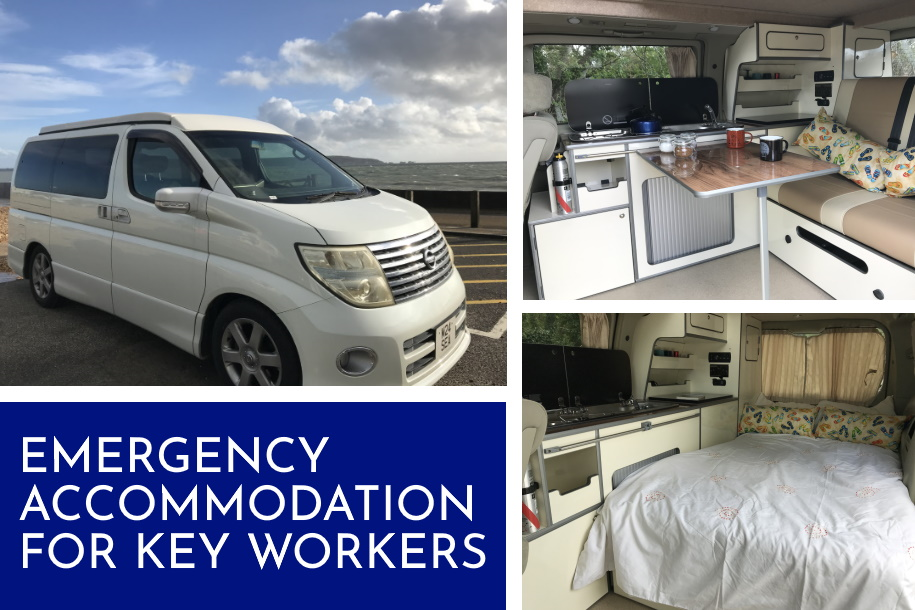 Emergency accommodation for key workers