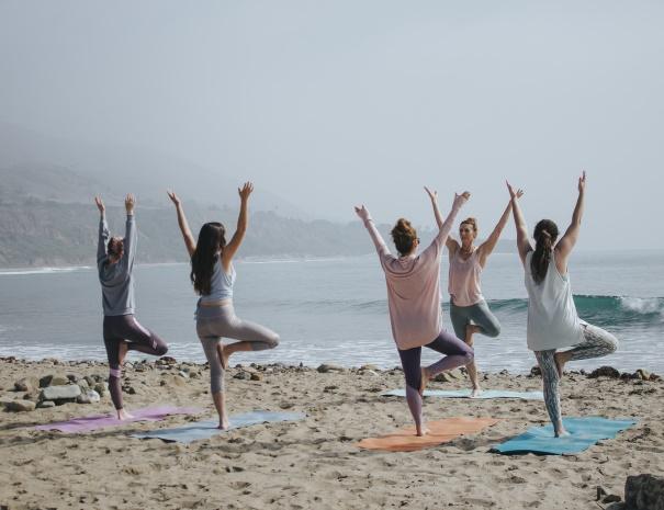 campervan yoga