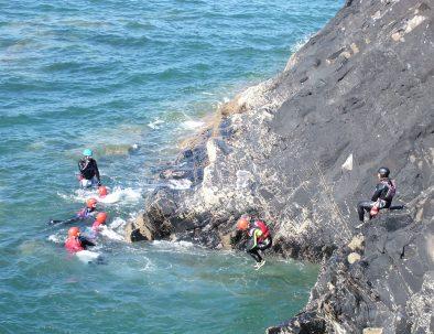 coasteering campervan adventure package