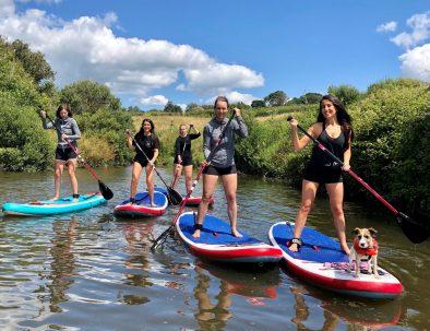 paddleboard campervan adventure package