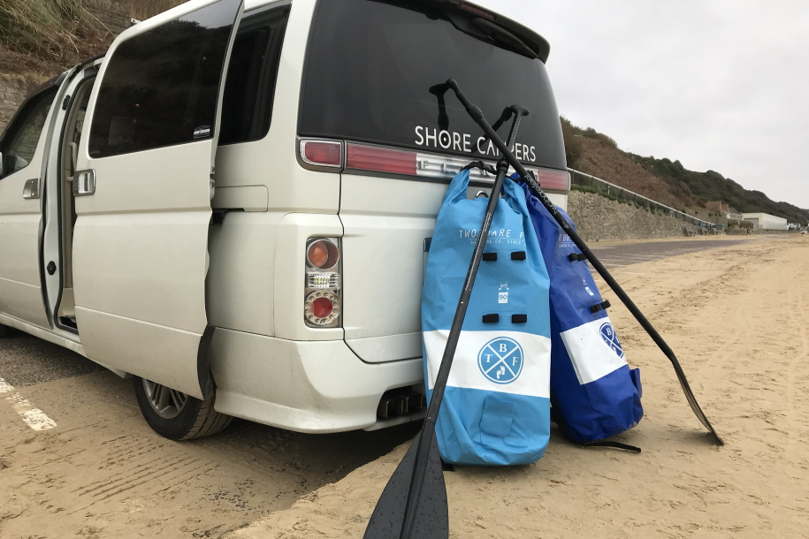 Campervan paddleboarding holidays