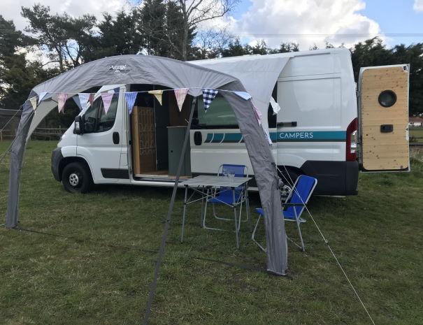 Finn the campervan plus canopy
