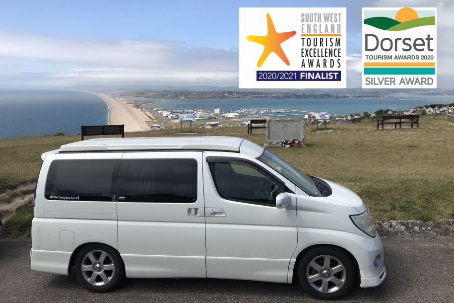 award winning campervan hire bournemouth