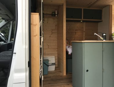 Finn's toilet cubicle