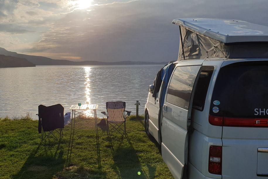 responsible camping for campervans
